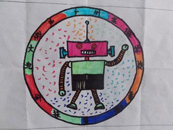 科技节通过:科技节会标设计大赛,科学手抄报,观看科普电影,科学知识