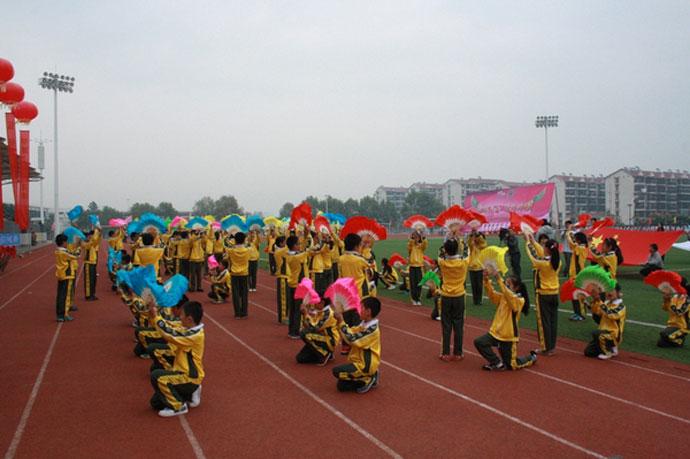 刀旗队 代表着澳大利亚,南非等8个国家的年级代表队排着整齐的队形图片